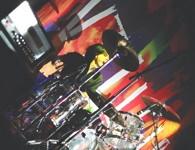 Drummer Alejandro Vallejo of Vallejo