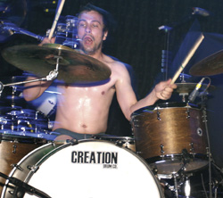 Drummer Andrew Forsman of The Fall Of Troy
