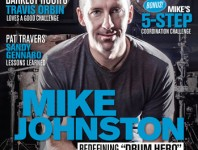 April 2014 Issue of Modern Drummer Featuring Mike ...