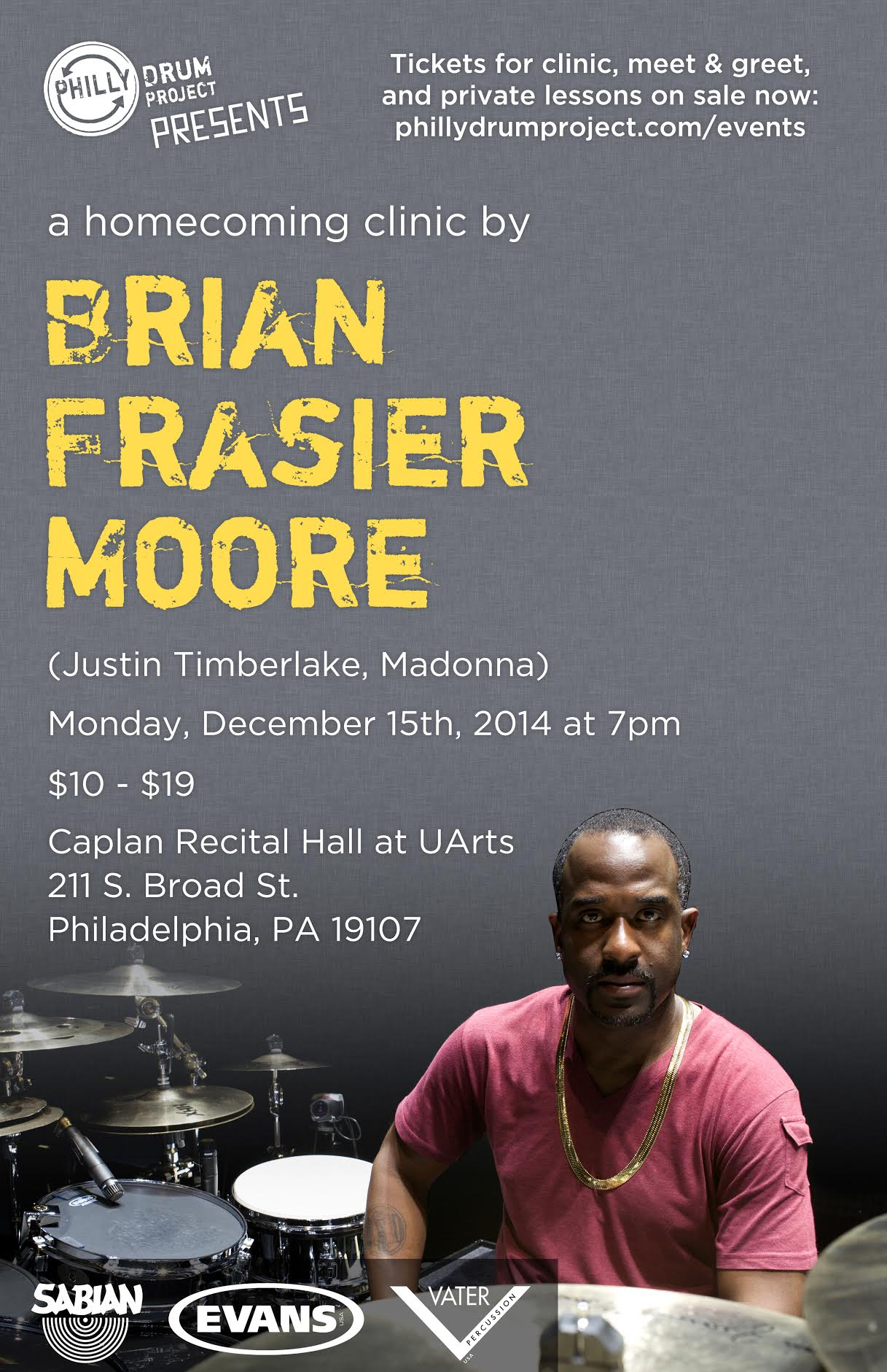 Brian Frasier Moore Homecoming Clinic
