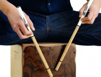 New from Meinl is the Bamboo Multi-Stick collection consisting of three different pairs. Each Multi-Stick is made in Germany from hand-selected bamboo and provides a different playing feel and new sound options for the cajon and other percussion instruments....