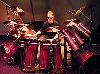 drummer Frank Beard of ZZ Top