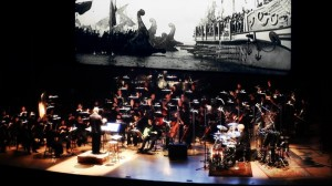 In his most recent stint this past year, Stewart Copeland restored MGM's frozen 1925 archival epic Ben-Hur: A Tale of the Christ made famous by actor Charlton Heston in the 1959 version. Copeland purchased, thawed, spliced, and curated various segments of the original silent film and then wrote a complete soundtrack and score to back its live orchestra concert.
