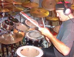 Drummer Bruce Burgess