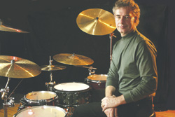 Drumer Bill Bruford