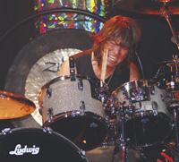 Drummer Bryan Hitt of REO Speedwagon