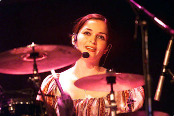 Caroline Corr of The Corrs