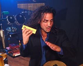 Drummer/Percussionist Daniel Reyes