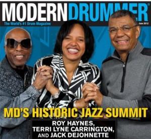 June 2012 Issue of Modern Drummer Magazine