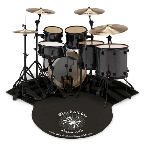 CRX Cymbal Packs to Include a Free Black Widow Drum Web
