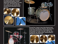 Win a prize package from Canopus Drums, Dream Cymbals, and Humes & Berg!
