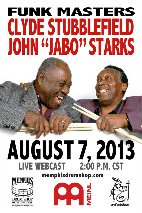 Stubblefield and Starks Webcast at Mycymbal.com