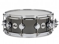 DW Black-Nickel Over Brass Snare