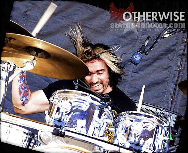 Drummer Corky Gainsford of Otherwise Blog