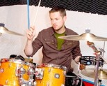 Drummer and MTV VJ Damien Fahey