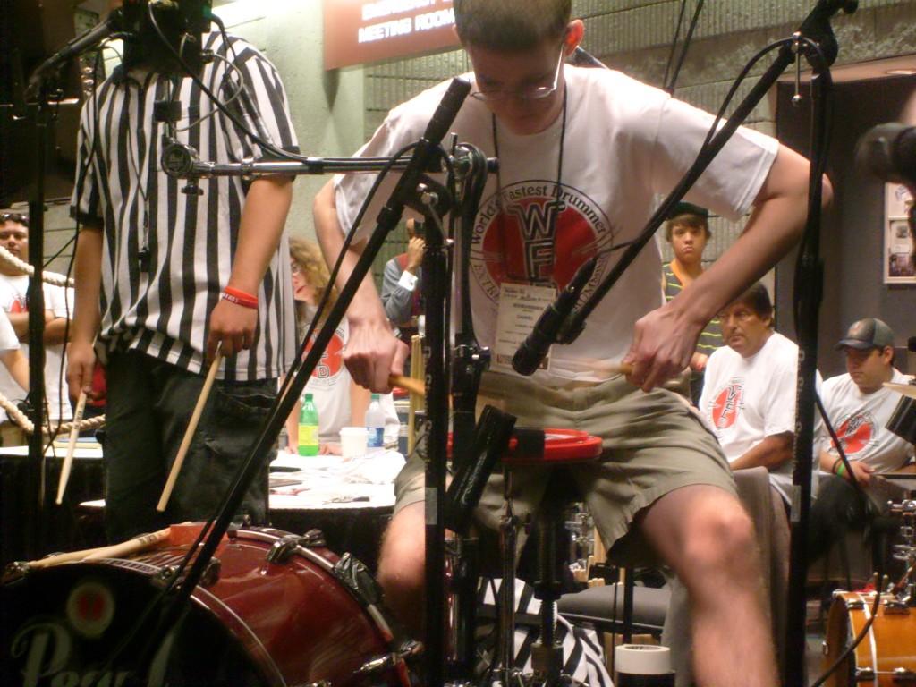 Daniel Hands 2012 winner, World's Fastest Drummer Contest Returns to Summer NAMM