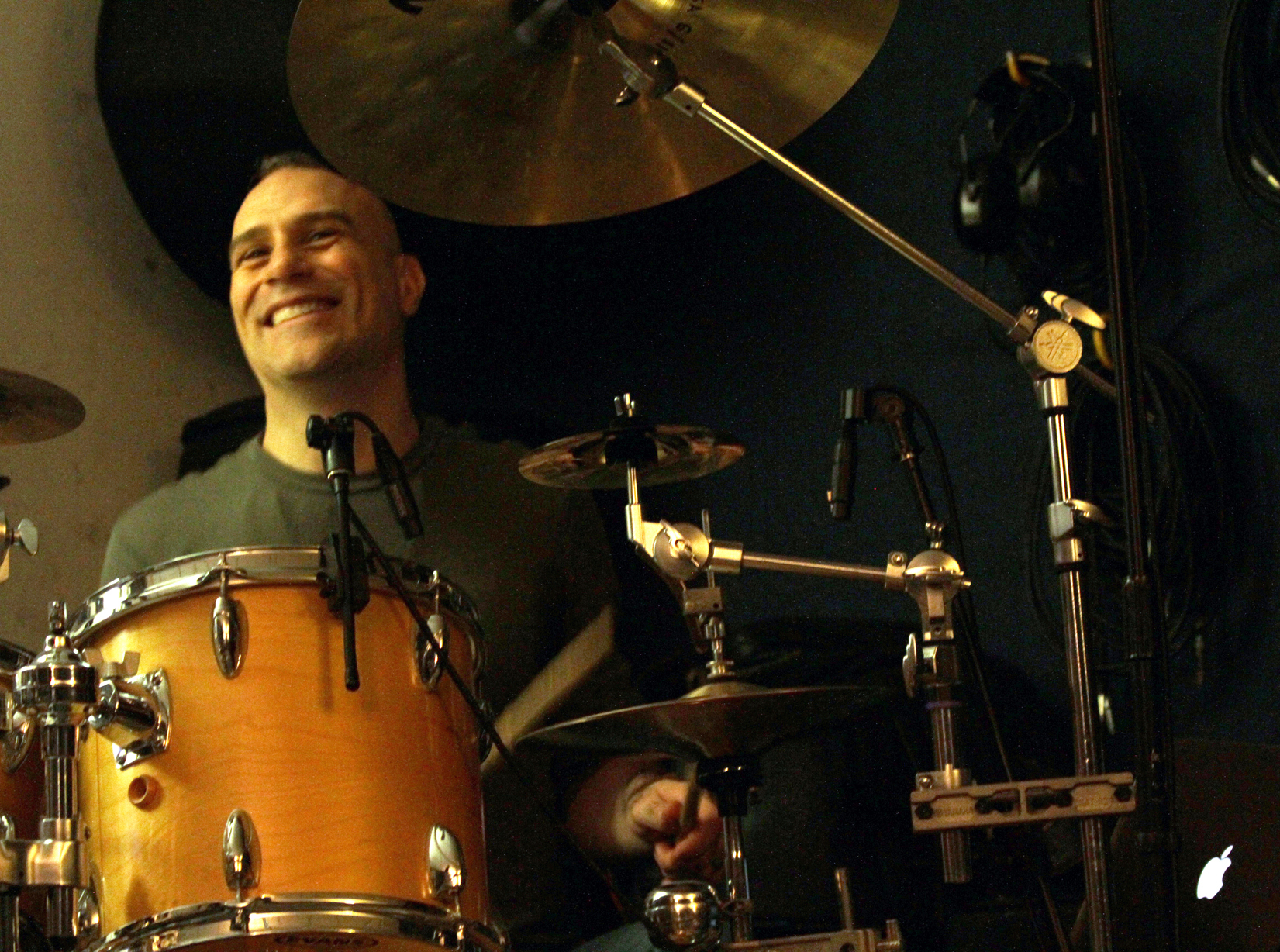 Drummer Chris DeRosa