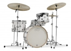 Drum Workshop has announced the addition of a new model to its line of Design Series drums, called the Frequent Flyer kit, co-designed with Peter Erskine. The travel-friendly set includes a shallow 12x20 bass drum, traditional 8x12 rack tom, 11x14 floor tom, and 5x14 snare drum....