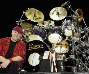 Drummer Doane Perry