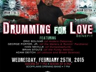 "News: ""Drumming for Love"" Benefit"