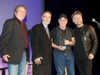 Berklee College of Music presented its first American Master Awards on Tuesday in Nashville, to Curb Group CEO Jim Ed Norman, Grand Ole Opry vice president and general manager Pete Fisher, and Eddie Bayers, drummer on more than 300 gold and platinum records....