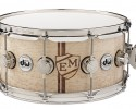 DW Personalized Snare Drums Exotic Monogram