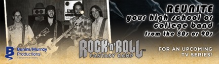 Rock 'n' Roll Fantasy Camp Wants to Reunite Your Former Band for TV