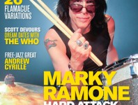<b>February 2014 Issue of Modern Drummer Featuring Marky Ramone</b>
