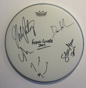 Win an Autographed Drumhead and Second Nature CD From Flying Colors