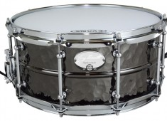 Dixon has released two Gregg Bissonette signature snare drums. Bissonette chose two 6.5x14 models. One sports a hammered-brass beaded shell with tube lugs....