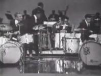 <b>Gene Krupa/Buddy Rich Drum Battle on The Sammy Davis Jr. Show</b>
