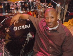 Drummer Gorden Campbell