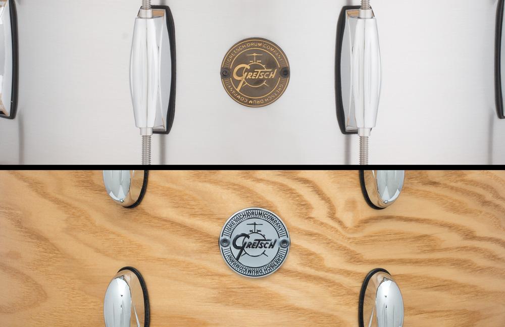 Gretsch-Gold-Silver-Snare