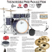 Enter to Win This Incredible Prize Package From Gretsch, Gibraltar, LP, KAT, and Sabian