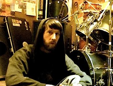 Drummer Harland Burkhart of Wild Hunt Blog