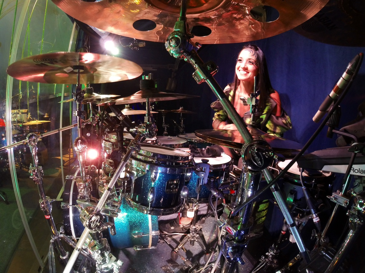 "Didi Negron Named Celebrity Spokesperson for the 2015 ""Hit Like A Girl"" Drumming Contest"