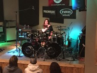 News: Moore Music Welcomed Back Metal Drummer Shawn Drover for Tw...