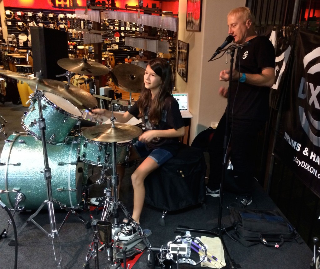 Dixon Drums and Gregg Bissonette Northern California Clinic Tour Wrap-up