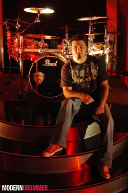 Jason Schmidt of Brian Davis Drummer Blog