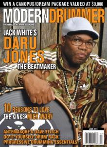 Daru Jones Drummer | Modern Drummer Archive