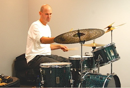 Drummer Jerome Deupree