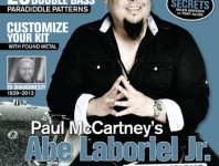 <b>January 2014 Issue of Modern Drummer Featuring Abe Laboriel Jr.</b>