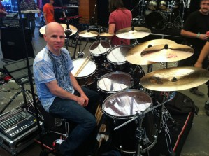 Jimmy Keegan of Spock's Beard Drummer Blog