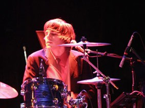 Drummer Joey Zehr of The Click Five