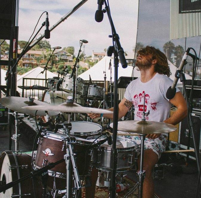 Drummer John Fontana of the Futures League blog