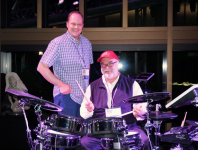MD Columnist John Emrich Assists Peter Erskine With Multimedia Pe...
