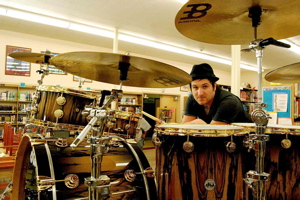 Drummer Jon Wilkes from the Red Jumpsuit Apparatus