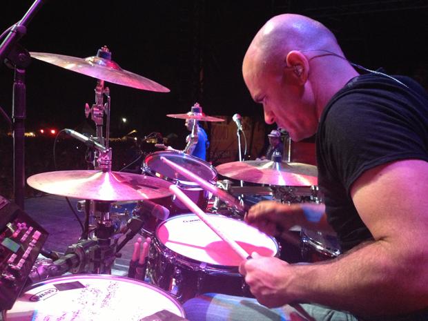 Drummer Johnny Richardson with Trace Adkins Drummer Blog