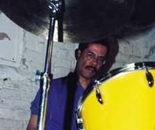 drummer Mark Johnson