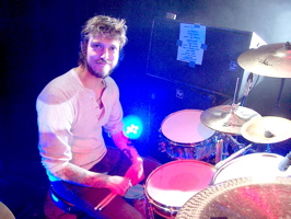 Drummer Jon Karel of The Number 12 Looks Like You